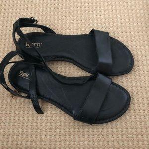BORN sandals.